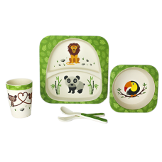 BAMBOO KIDS SET - JUNGLE