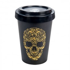 BAMBOO CUP SKULL BLACK