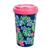 BAMBOO CUP TROPICAL PINK