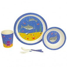 BAMBOO KIDS SET - SEA