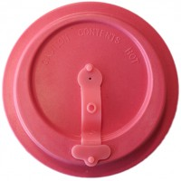 BAMBOO LID PINK