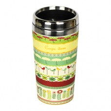 "BAMBOO ""TAKE AWAY"" MUG CARPE DIEM"