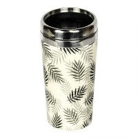 "BAMBOO ""TAKE AWAY"" MUG LEAFS"