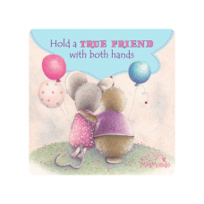 MIAMONDO  FRIDGE MAGNET - A TRUE FRIEND  1
