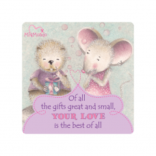 MIAMONDO  FRIDGE MAGNET - A TRUE FRIEND 2