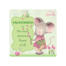 MIAMONDO  FRIDGE MAGNET -  FRIENDSHIP