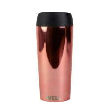 WELL MUG ROSE GOLD CHROME