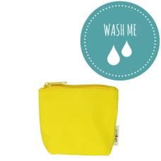 Mini torbica iz pralnega papirja Yellow