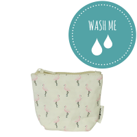 Mini torbica iz pralnega papirja Flamingo