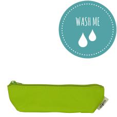Washable Paper Mini Bag Neon Green