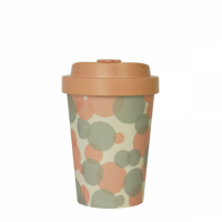 BAMBOO CUP BUBBLES PINK