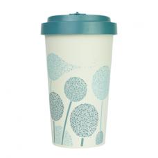 BAMBOO CUP DANDELIONS DARK BLUE