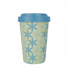 BAMBOO CUP GEOMETRIC FLOWERS