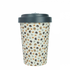 BAMBOO CUP PAWS GREY