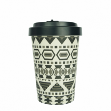BAMBOO CUP AZTEC WHITE/BLACK BLACK