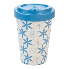 BAMBOO CUP GEOMETRIC FLOWERS