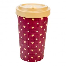 BAMBOO CUP LOVE BEIGE