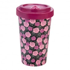 BAMBOO CUP ROSES PURPLE