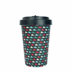 BAMBOO CUP WHALES BLACK