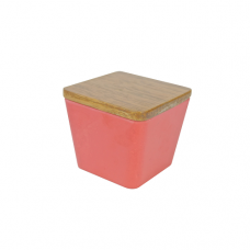 BAMBOO FLOWER CANDLE STRAWBERRY DIVINE