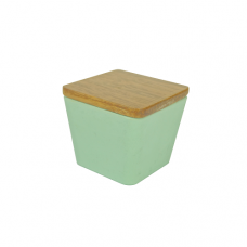 BAMBOO FLOWER CANDLE APPLE DELIGHT