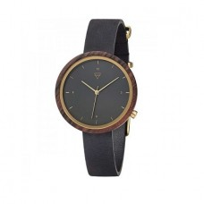 WATCH HILDE SANDALWOOD MIDNIGHT BLACK