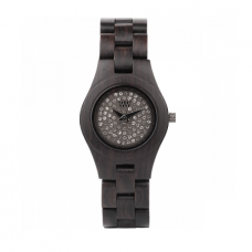 WATCH MOON CRYSTAL BLACK